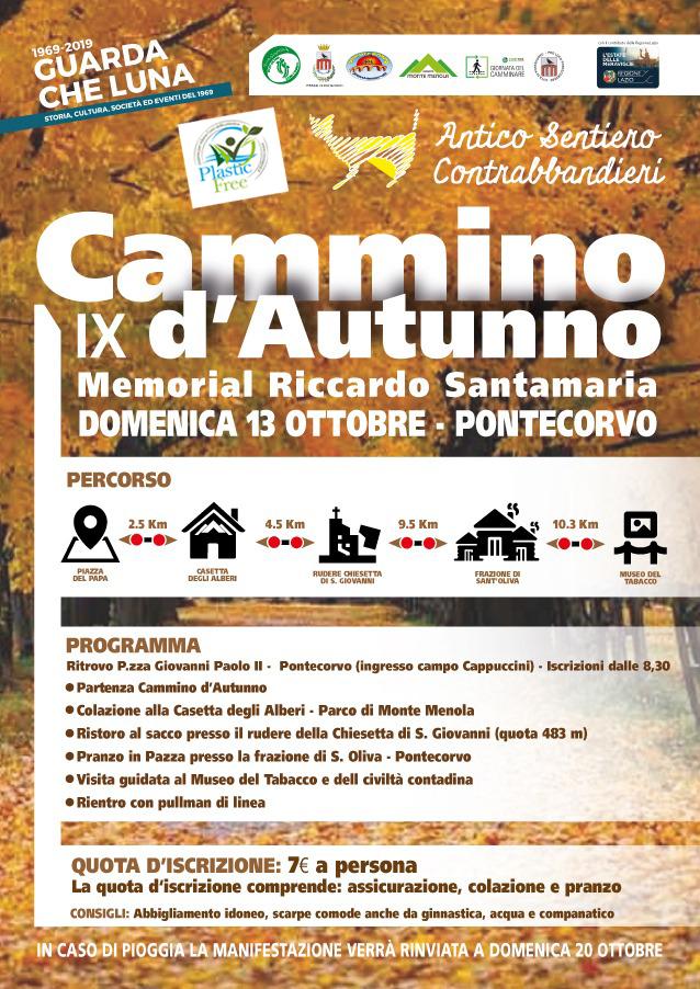 """Cammino d' Autunno - Antico sentiero dei Contrabbandieri di Tabacco - """"Memorial Riccardo Santamaria"""""""